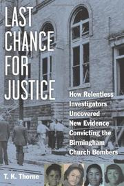 LAST CHANCE FOR JUSTICE by T.K. Thorne