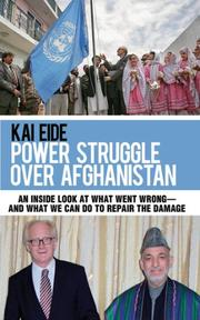 Cover art for THE POWER STRUGGLE OVER AFGHANISTAN