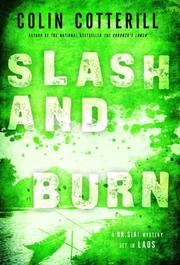 Cover art for SLASH AND BURN