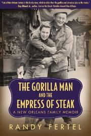 Book Cover for THE GORILLA MAN AND THE EMPRESS OF STEAK
