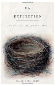 ON EXTINCTION by Melanie Challenger