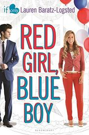 RED GIRL, BLUE BOY by Lauren Baratz-Logsted