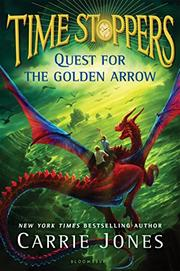 QUEST FOR THE GOLDEN ARROW by Carrie Jones