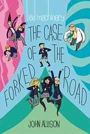 THE CASE OF THE FORKED ROAD by John Allison