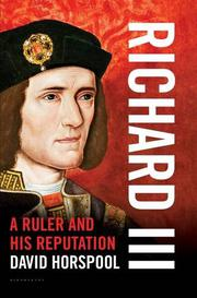RICHARD III by David Horspool