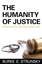 Cover art for THE HUMANITY OF JUSTICE