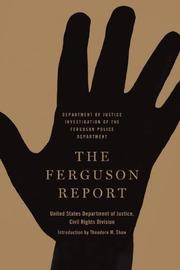 THE FERGUSON REPORT by United States Department of Justice, Civil Rights Division