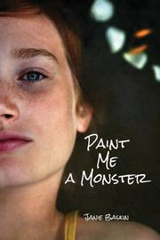 PAINT ME A MONSTER by Janie Baskin