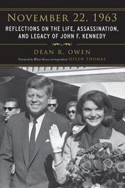NOVEMBER 22, 1963 by Dean R. Owen
