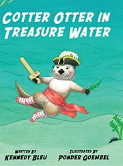 Cotter Otter in Treasure Water by Kennedy Bleu