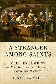 A STRANGER AMONG SAINTS by Jonathan Mack