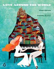 LOVE AROUND THE WORLD by Fleur Pierets