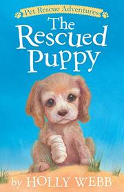 THE RESCUED PUPPY by Holly Webb