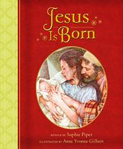 JESUS IS BORN by Sophie Piper