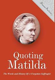 QUOTING MATILDA by Susan Savion