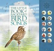 THE LITTLE BOOK OF BACKYARD BIRD SONGS by Andrea Pinnington