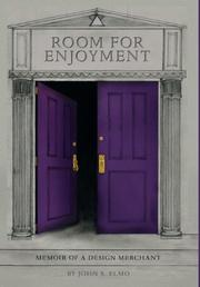 Book Cover for Room for Enjoyment
