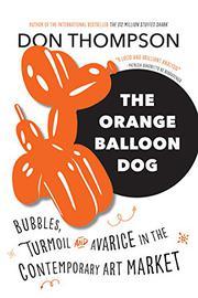 THE ORANGE BALLOON DOG by Don Thompson