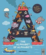 SEARCH AND FIND ALPHABET OF ALPHABETS by A.J. Wood