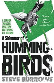 A SHIMMER OF HUMMINGBIRDS by Steve Burrows
