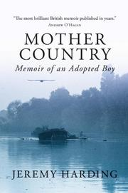 MOTHER COUNTRY by Jeremy Harding