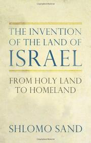 Book Cover for THE INVENTION OF THE LAND OF ISRAEL