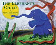 Cover art for THE ELEPHANT'S CHILD
