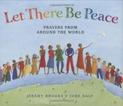 Book Cover for LET THERE BE PEACE