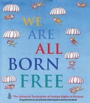 Book Cover for WE ARE ALL BORN FREE