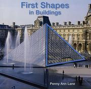Book Cover for FIRST SHAPES IN BUILDINGS
