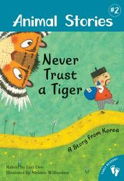 Cover art for NEVER TRUST A TIGER