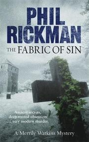 Cover art for THE FABRIC OF SIN