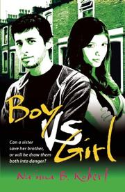 Book Cover for BOY VS. GIRL