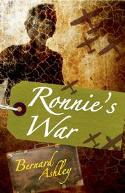 Cover art for RONNIE'S WAR