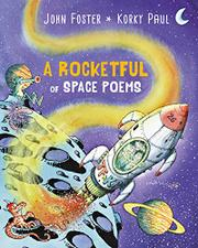 A ROCKETFUL OF SPACE POEMS by John Foster