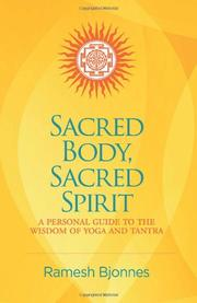 Book Cover for SACRED BODY, SACRED SPIRIT