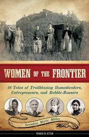 WOMEN OF THE FRONTIER by Brandon Marie Miller