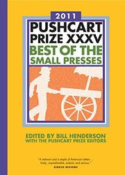 Cover art for PUSHCART PRIZE XXXV
