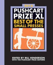 THE PUSHCART PRIZE XL by Bill Henderson