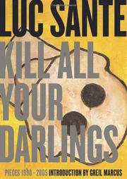 Book Cover for KILL ALL YOUR DARLINGS