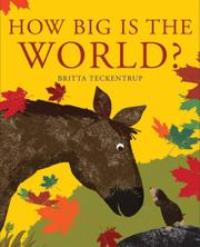Book Cover for HOW BIG IS THE WORLD?