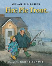 FIRE PIE TROUT by Melanie Mosher