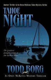 TAHOE NIGHT by Todd Borg