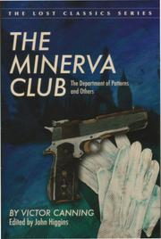 THE MINERVA CLUB by Victor Canning