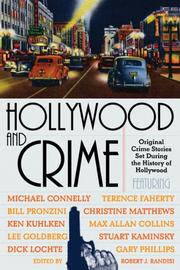 Cover art for HOLLYWOOD AND CRIME