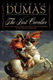 Cover art for THE LAST CAVALIER