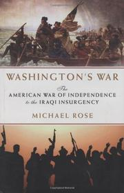 WASHINGTON'S WAR by Michael Rose