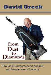 FROM DUST TO DIAMONDS by David Oreck