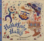 HANUKKAH HAIKU by Harriet Ziefert
