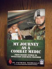 Book Cover for MY JOURNEY AS A COMBAT MEDIC
